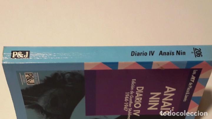 Libros antiguos: ANAÏS NIN - DIARIO IV (1944 - 1947) - PLAZA & JANÉS -1993 (1ª EDICIÓN) - Foto 3 - 130620742