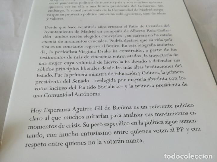 Libros antiguos: Esperanza Aguirre. La Presidenta - Drake, Virginia - Foto 4 - 131083188