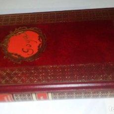 Libros antiguos: GOYA-BIBLIOTECA HISTORICA DE GRANDES PERSONAJES-URBION-ILUSTRACIONES. Lote 131084072
