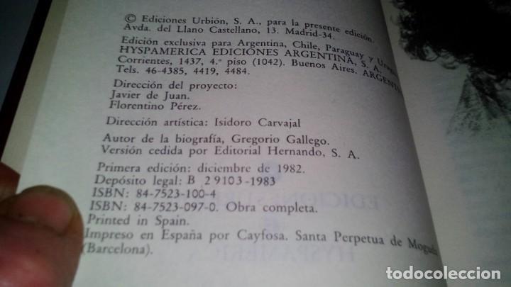 Libros antiguos: GOYA-BIBLIOTECA HISTORICA DE GRANDES PERSONAJES-URBION-ILUSTRACIONES - Foto 5 - 131084072