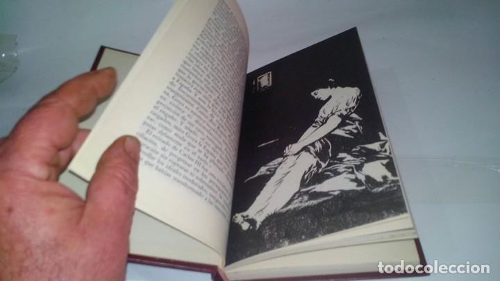 Libros antiguos: GOYA-BIBLIOTECA HISTORICA DE GRANDES PERSONAJES-URBION-ILUSTRACIONES - Foto 7 - 131084072