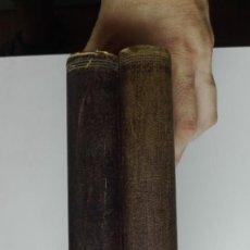 Libros antiguos: GOETHE, HISTORIA DE UN HOMBRE. EMILE LUDWIG. 1932, PRIMERA EDICIÓN ESPAÑOLA. 2 TOMOS, COMPLETO.. Lote 131498482