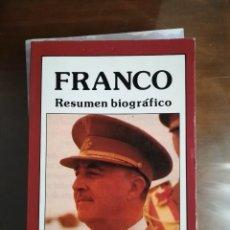 Libros antiguos: FRANCO POR F. CAUDET YARZA. Lote 133739338