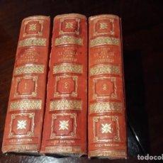 Libros antiguos: LA CIENCIA Y SUS HOMBRES - 3 TOMOS 1883 - LUIS FIGUIER .. Lote 133940766