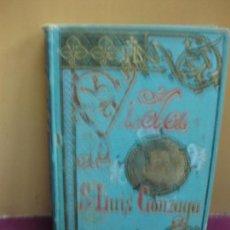 Libros antiguos: VIDA DE SAN LUIS GONZAGA POR P. FEDERICO CERVOS. IMP. Y LIBRERIA DE SUBIRANA HERMANOS 1892.. Lote 134503478