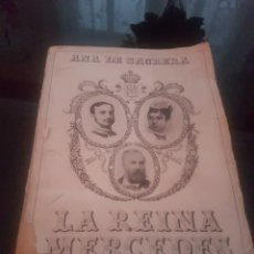 Libros antiguos: LA REINA MERCEDES. Lote 136049956