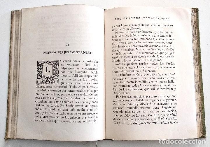 Libros antiguos: ENRIQUE STANLEY, VIAJES Y AVENTURAS... - P. CELSO GARCÍA - EDITORIAL ARALUCE AÑO 1940 - Foto 6 - 136506770