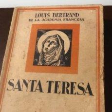 Libros antiguos: ANTIGUO LIBRO SANTA TERESA EDICIONES MERCURIO 1927. Lote 137580798