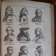 Libros antiguos: DICTIONNAIRE UNIVERSEL. PARÍS, 1810. LÁMINAS.. Lote 139721774