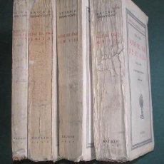 Libros antiguos: ANTONIO ESPINA Y CAPO (OCAÑA 1850-1930, MÉDICO): NOTAS DEL VIAJE DE MI VIDA. 1850 A 1920 (4 TOMOS) . Lote 140413902