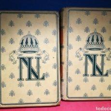 Libros antiguos: NAPOLEÓN III - TOMOS 1 Y 2 (DE 4) - IMBER DE SAINT-AMAND - MONTANER Y SIMÓN, 1898. Lote 140898188