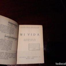Libros antiguos: MI VIDA - ISADORA DUNCAN. Lote 141296086