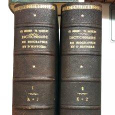 Libros antiguos: DICTIONNAIRE GÉNÉRAL DE BIOGRAPHIE ET D´HISTOIRE. 1857. Lote 141669158