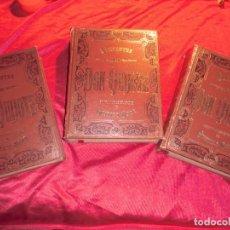 Libros antiguos: COLECCION DE LIBROS DON QUIJOTE DE LA MANCHA. Lote 142484246