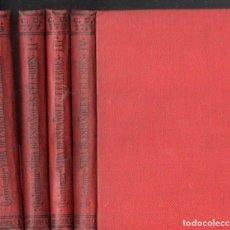 Libros antiguos: QUINTANA : VIDA DE ESPAÑOLES CÉLEBRES - CINCO TOMOS EN CUATRO VOLÚMENES (CALPE, 1922). Lote 143608134