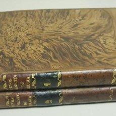 Libros antiguos: J-NUEVOS ELEMENTOS DE CIRUGIA DE MEDICINA OPERATORIA RAMON FRAU TOMOS 1 Y 2 AÑO 1843 . Lote 143716398