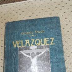 Libros antiguos: VIDA Y OBRA DE DIEGO VELAZQUEZ DE 1899. Lote 144223732