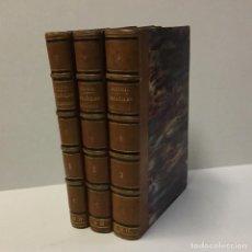 Libros antiguos: VIDAS DE ESPAÑOLES CÉLEBRES. - QUINTANA, MANUEL JOSEF. 3 TOMOS. 1830-1833. Lote 145738814