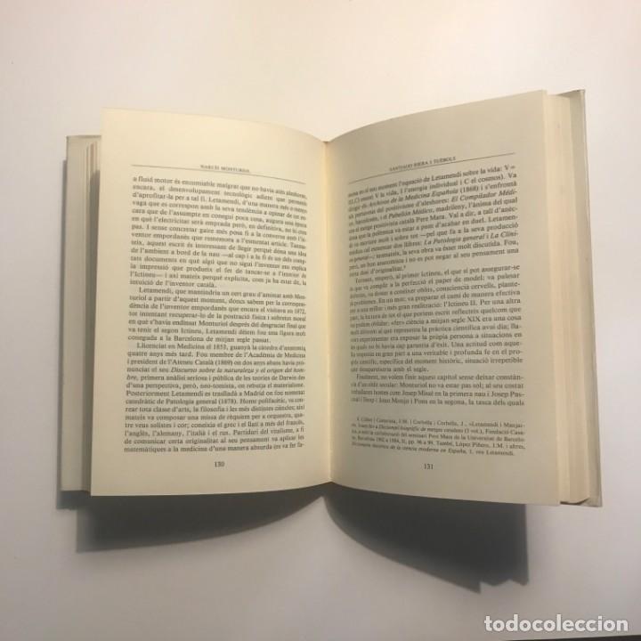Libros antiguos: NARCÍS MONTURIOL UNA VIDA APASSIONANT SANTIAGO RIERA I TUÉBOLS - Foto 2 - 147036890