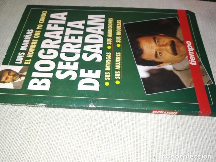 Libros antiguos: Sadam Hussein. BIOGRAFÍA SECRETA . Autor: Luis Mariñas - Foto 3 - 147237926