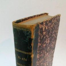 Libros antiguos: 1890 - MORENO ESPINOSA - EL AÑO BIOGRÁFICO Ó SEMBLANZAS DE 366 PERSONAJES CÉLEBRES. Lote 147325090