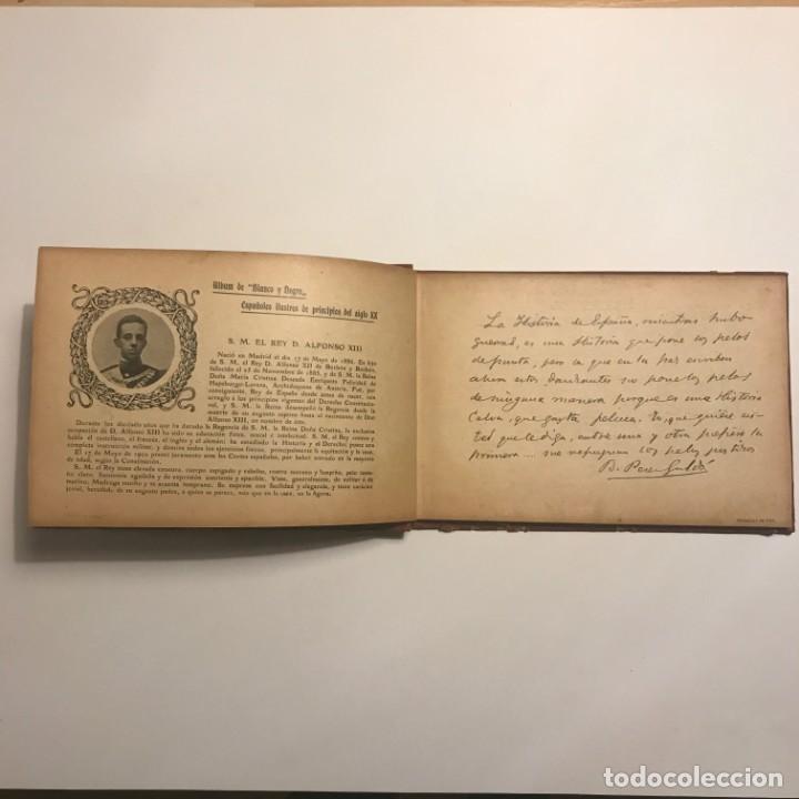 Libros antiguos: Album de españoles ilustres de principios del siglo XX. Madrid, Blanco y Negro.1903 - Foto 2 - 148354230