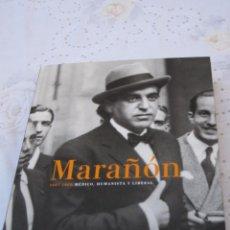Libros antiguos: MARAÑON - 1887 -1960 - MEDICO, HUMANISTA Y LIBERAL. EXPOSICION : TOLEDO 2010.CON CD-ROM.. Lote 150478002
