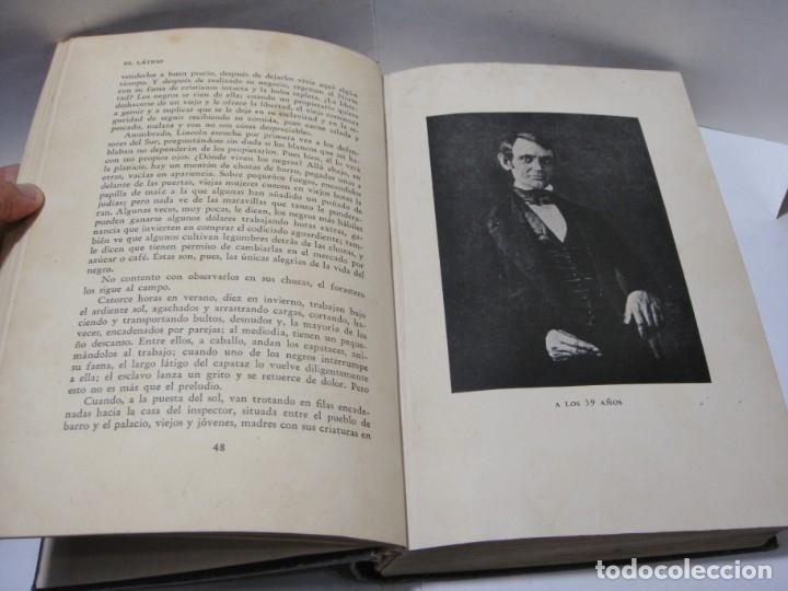 Libros antiguos: LINCOLN. EMIL LUDWIG. PRIMERA EDICIÓN ESPAÑOLA. ENERO 1931. EDITORIAL JUVENTUD. - Foto 5 - 152747754