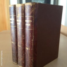 Libros antiguos: MONUMENTO A COLÓN (CONDE ROSELLY DE LORGUES) 1878 TRES TOMOS. Lote 153599158
