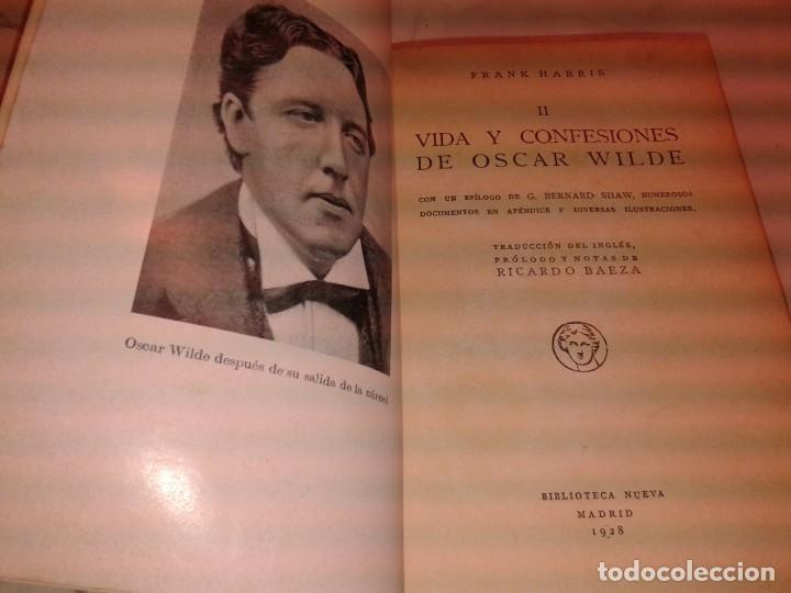 Libros antiguos: VIDA Y CONFESIONES DE OSCAR WILDE, 1938 - Foto 2 - 155422882