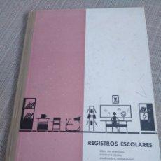 Libros antiguos: REGISTROS ESCOLARES - TERUEL 1969 - 1970. Lote 155896300