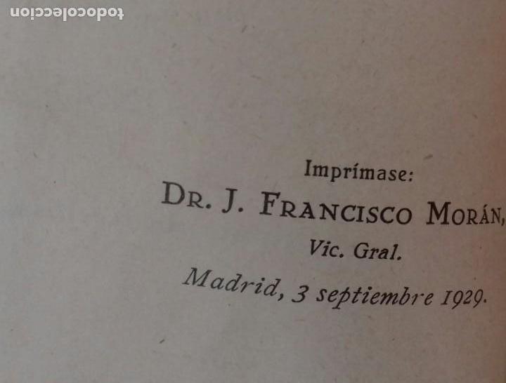 Libros antiguos: SANTA TERESITA DEL NIÑO JESÚS. LORENZO ALONSO. ILUSTRACIONES DE ARRIBAS. MADRID 1929. - Foto 3 - 155998670