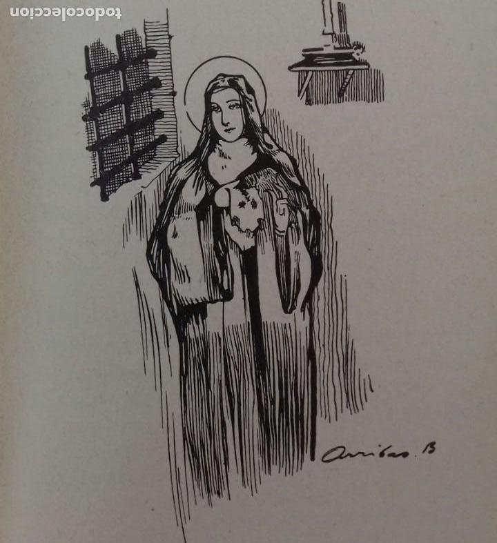 Libros antiguos: SANTA TERESITA DEL NIÑO JESÚS. LORENZO ALONSO. ILUSTRACIONES DE ARRIBAS. MADRID 1929. - Foto 6 - 155998670