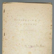Libros antiguos: MENORQUINES ILUSTRES, POR FRANCISCO.HERNÁNDEZ SANZ. AÑO 1906. (MENORCA.2.2). Lote 156677578