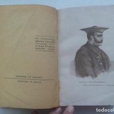 Libros antiguos: GUERRAS CARLISTAS: ZUMALACARREGUI , CAMAPAÑA DE DOCE MESES EN NAVARRA ..., DE HENNINGSEN . 1935. Lote 157077270