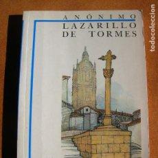 Libros antiguos: LIBRO LAZARILLO DE TORMES BIBLIOTECA DIDACTICA AMAYA 1985 ,134 PAGINAS. Lote 161696686