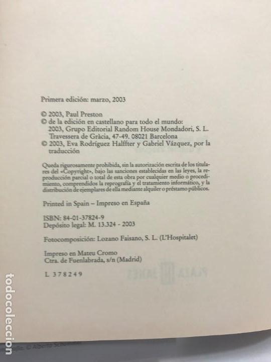 Libros antiguos: JUAN CARLOS EL REY DE UN PUEBLO PAUL PRESTON DE PLAZA JANES 2003. - Foto 2 - 163069310