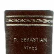 Libros antiguos: EPISCOPOLÓGIO DE LA SANTA IGLESIA DE MENORCA, POR SEBASTIÁN VIVES. AÑO 1903. (MENORCA.1.4). Lote 165630238