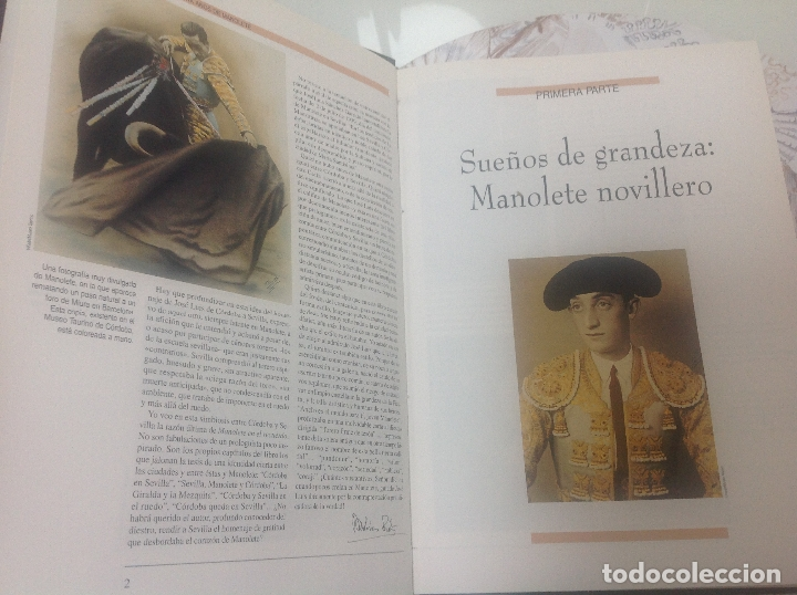 Libros antiguos: Manolete - Foto 2 - 167012264