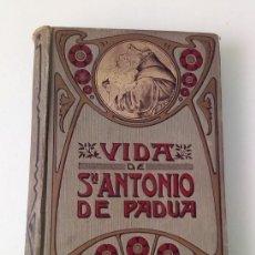 Libros antiguos: VIDA DE SAN ANTONIO DE PADUA - NICOLÁS HEIM. Lote 167850728