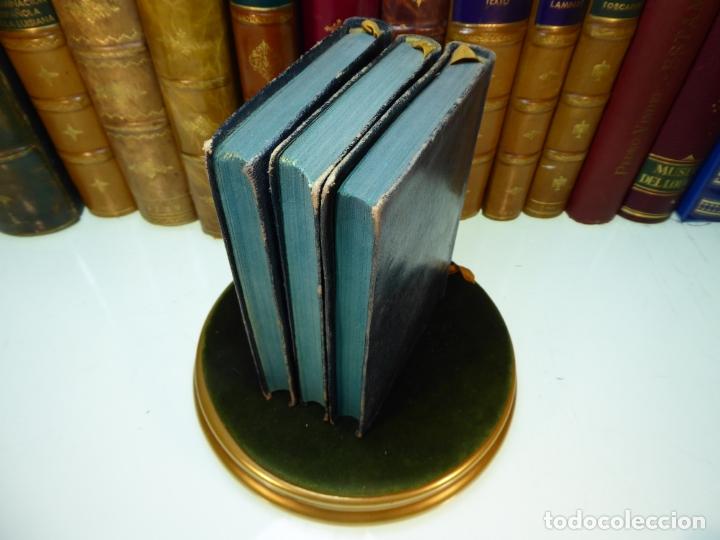 Libros antiguos: Conversaciones con Goethe en los últimos años de su vida. Juan Pedro Eckermann. 3 tomos. 1920. - Foto 20 - 168133644