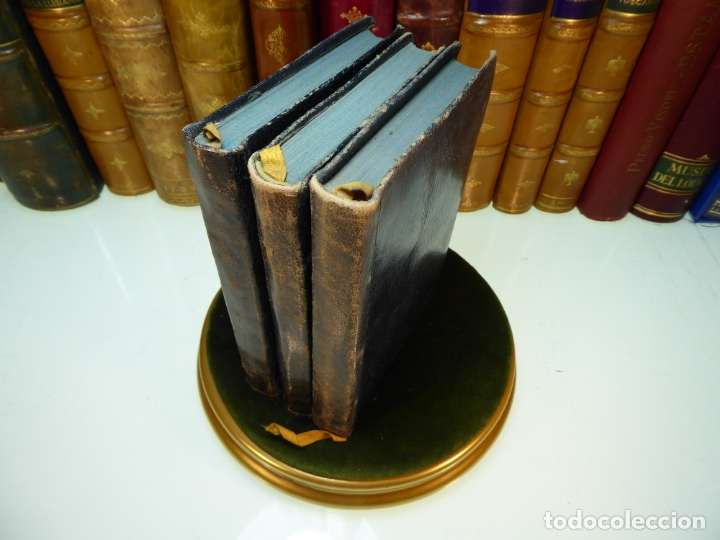 CONVERSACIONES CON GOETHE EN LOS ÚLTIMOS AÑOS DE SU VIDA. JUAN PEDRO ECKERMANN. 3 TOMOS. 1920. (Libros Antiguos, Raros y Curiosos - Biografías )