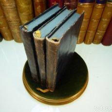 Libros antiguos: CONVERSACIONES CON GOETHE EN LOS ÚLTIMOS AÑOS DE SU VIDA. JUAN PEDRO ECKERMANN. 3 TOMOS. 1920.. Lote 168133644