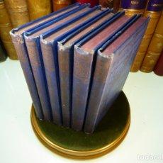 Libros antiguos: GOETHES. AUSGEMÄHLTE WERKE IN SMÖLF BÄNDEN. 6 TOMOS. J. G. COTTA'SCHE BUCHHANDLUNG. STUTTGART. 1890. Lote 168169004