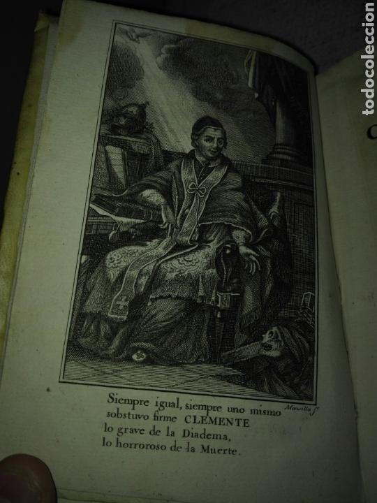 Libros antiguos: Pergamino S. XVIII. CARACCIOLO (Marqués). 1777. Vida de el Papa Clemente XIV (Ganganelli.) - Foto 3 - 168237933