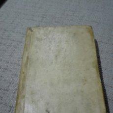 Libros antiguos: PERGAMINO S. XVIII. CARACCIOLO (MARQUÉS). 1777. VIDA DE EL PAPA CLEMENTE XIV (GANGANELLI.). Lote 168237933