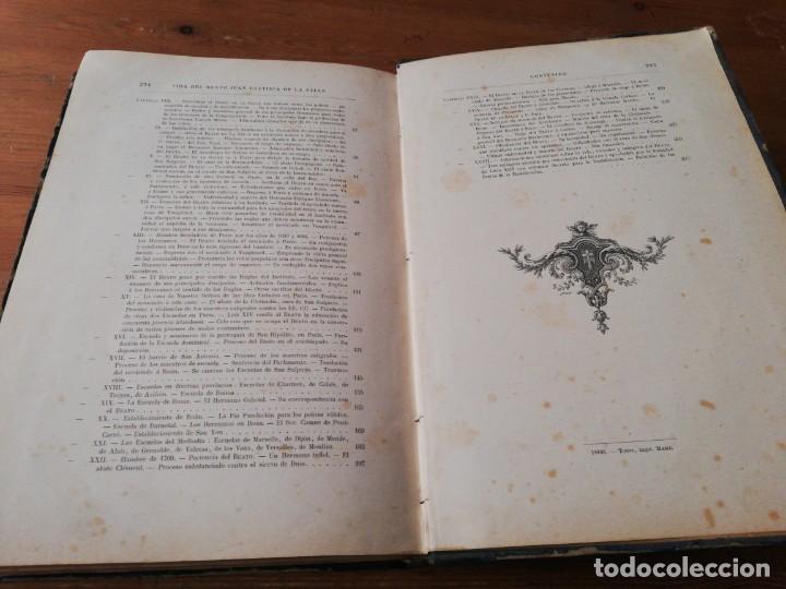 Libros antiguos: Vida del beato J. B. De la Salle. París. 1840. - Foto 9 - 168673128