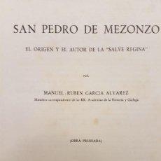 Libri antichi: SAN PEDRO DE MEZONZO, (GARCIA ALVAREZ), MADRID 1965. Lote 214791126