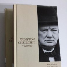 Libros antiguos: ROY JENKINS - WINSTON CHURCHILL VOLUMEN I Y II T2 - EDITORIAL ABC #1,3. Lote 171167589
