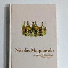 Libros antiguos: MAURIZIO VIROLI - NICOLÁS MAQUIAVELO T2 - EDITORIAL ABC #10. Lote 171174323